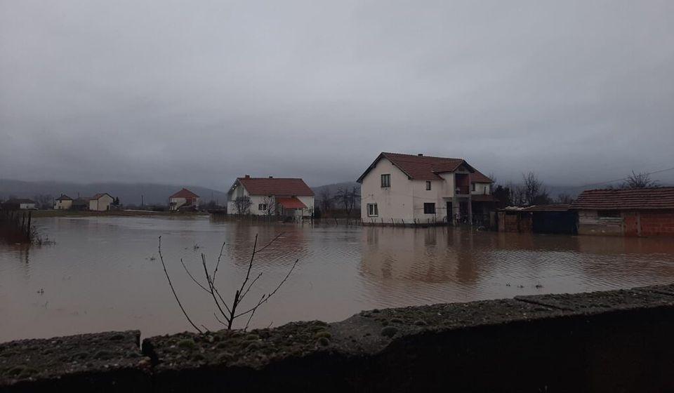Jutrošnji prizor iz Levosoja. Foto Bujanovačke