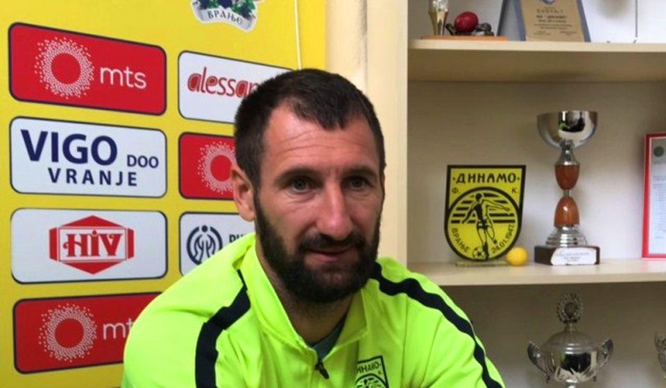 Maksimalna skoncentrisanost na utakmicu: Danijel Gašić. Foto VranjeNews