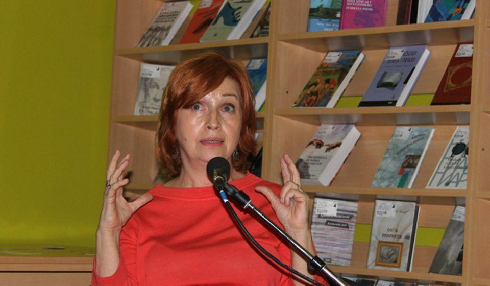 Amaralove priče su uzbudljive, emotivno jake, priče koje koncipiraju problem sećanja: Ljubica Arsić. Foto VranjeNews