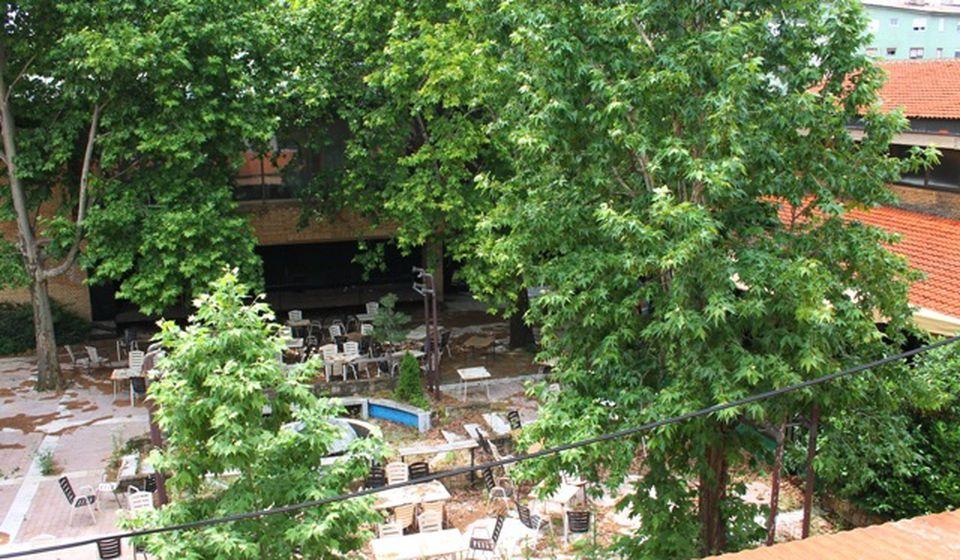 Bašta Hotela Vranje koja je šezdesetih i sedamdesetih bila kultno mesto Vranjanaca. Foto VranjeNews
