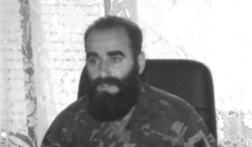 Komandant Leši ubijen je snajperskim hicem na brdu Guri Gat kod Velikog Trnovca 24. maja 2001. Foto privatna arhiva