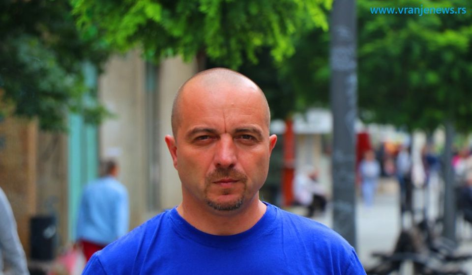 Vlast dovođenjem kosovskog ministra krši Ustav: Saša Arsić, koordinator Narodne stranke za jug Srbije i KiM. Foto Vranje News