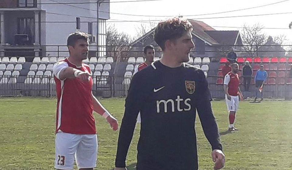 Detalj sa meča u Dobanovcima. Foto FK Dinamo