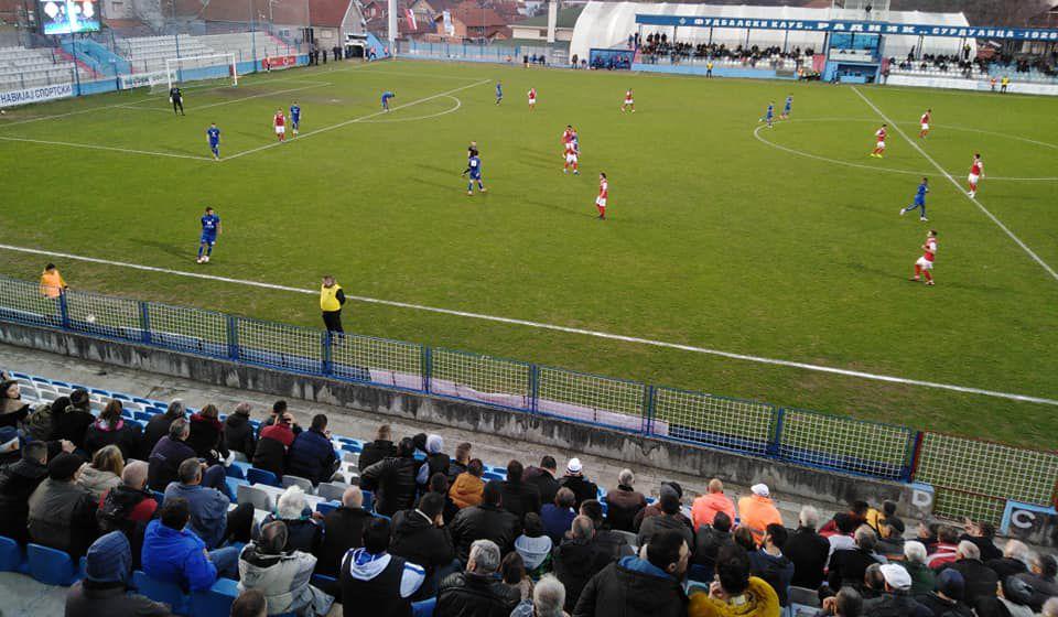 Detalj sa jučerašnje utakmice. Foto FK Radnik