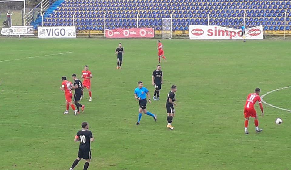 Vranjanci pali u 90. minutu. Foto FK Dinamo