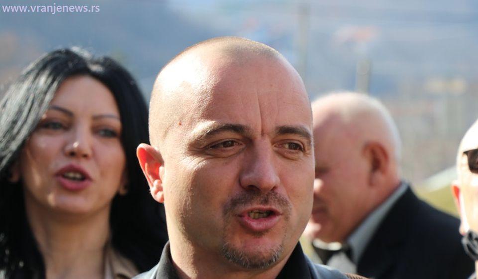 Saša Arsić, koordinator Narodne stranke za Pčinjski okrug i Kosmet. Foto Vranje News