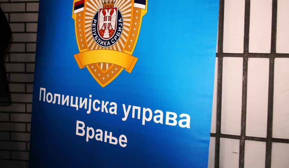 Matičarku priveli pripadnici vranjske policije. Foto VranjeNews