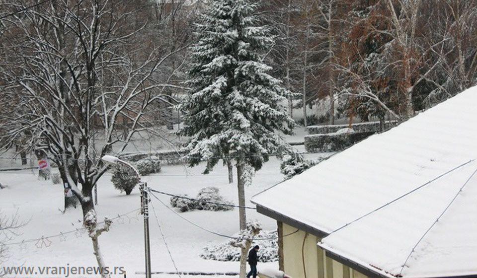 Prvi sneg ove zime očekuje se za vikend. Foto ilustracija Vranje News