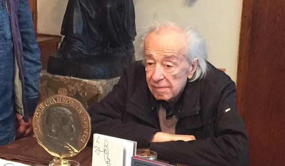 Branimir Šćepanović (1937 - 2020). Foto KZ Bora Stanković