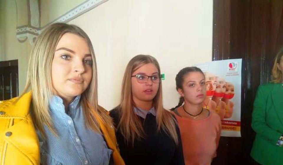 Milica, Tašana i Melanija. Foto VranjeNews