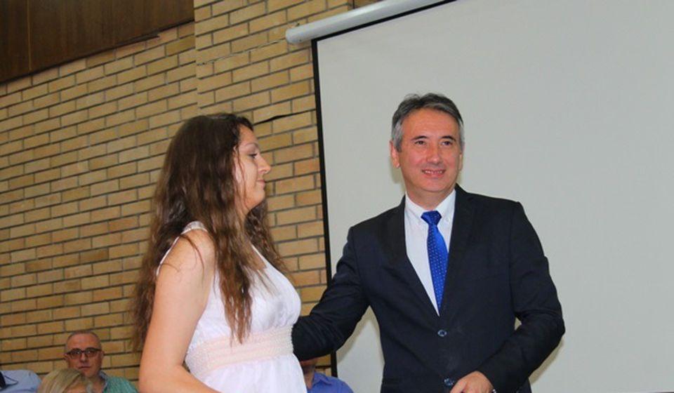 Anđela Cvetković, đak generacije OŠ Vuk Karadžić