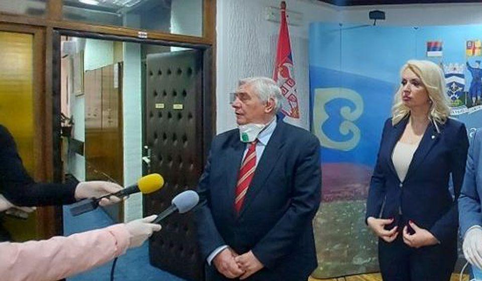 Branislav Tiodorović prilikom jedne od poseta Vranju. Foto www.vranje.org.rs
