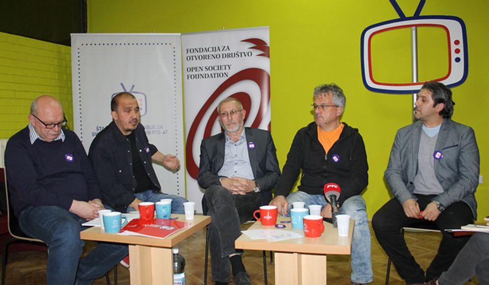 Učesnici panel diskusije o RTS-u. Foto VranjeNews