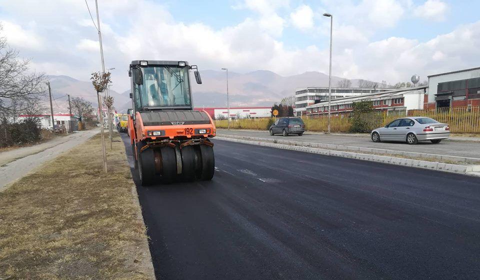 Ostao još finalni sloj asfalta. Foto VranjeNews