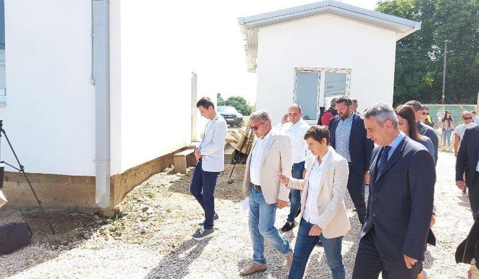 Predsednica Vlade Ana Brnabić u Vranju. Foto vranje.rs