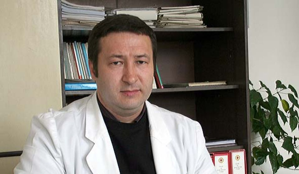 Najviše obolelih u Surdulici: dr Slađan Stanković. Foto Vranjenews