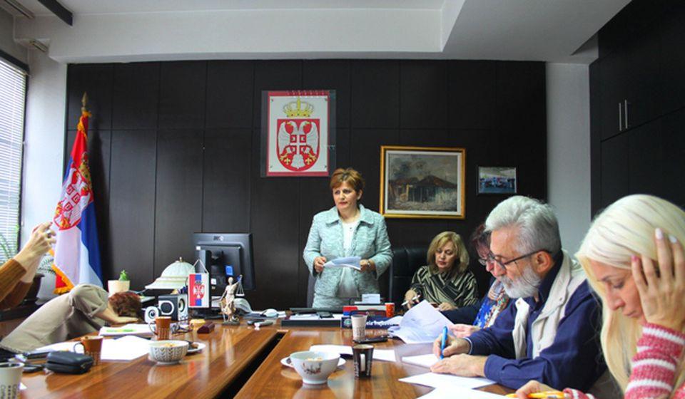 Detalj sa konferencije sa medije u VJT. Foto VranjeNews