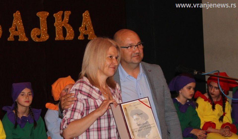 Učiteljica Ivana Vučković. Foto Vranje News