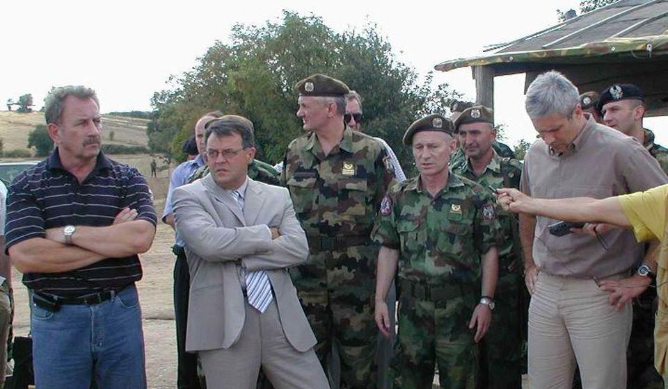 Nebojša Čović na jednoj od lokacija u KZB. Foto lična arhiva