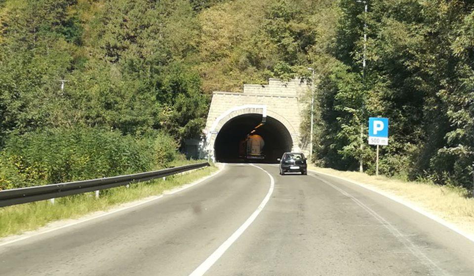 Kržince, jedan od tunela na ovoj trasi magistralnog puta. Foto VranjeNews