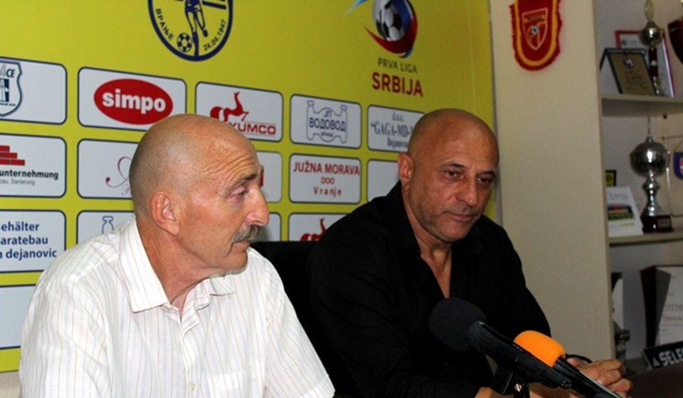 Radmilo Jovanović i Dragan Antić Recko. Foto VranjeNews