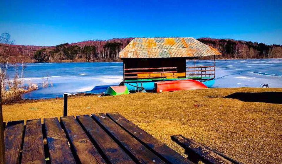 Ovako danas izgleda jezero. Foto Vranje News