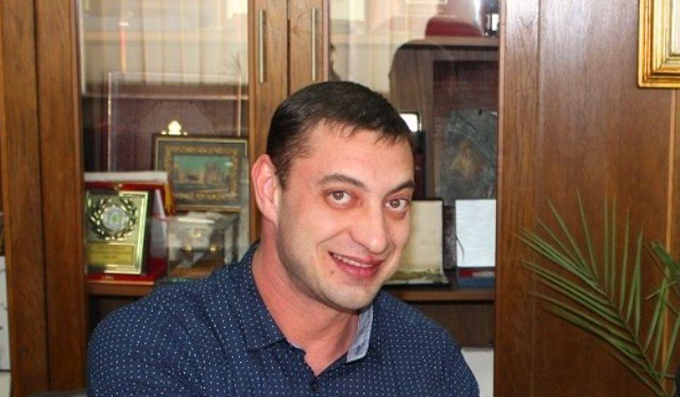 Aleksandar Komarov. Foto grad Vranje