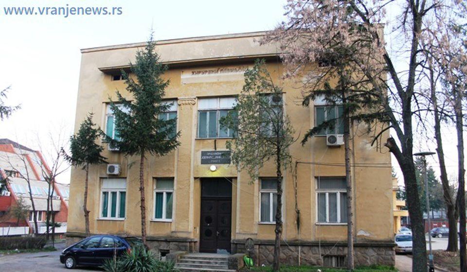 Stara Hirurgija u Vranju, sada COVID bolnica. Foto Vranje News