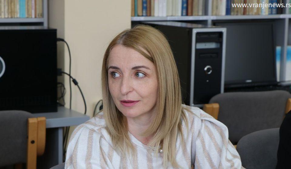 Zamenica gradonačelnika Vranja Zorica Jović. Foto Vranje News