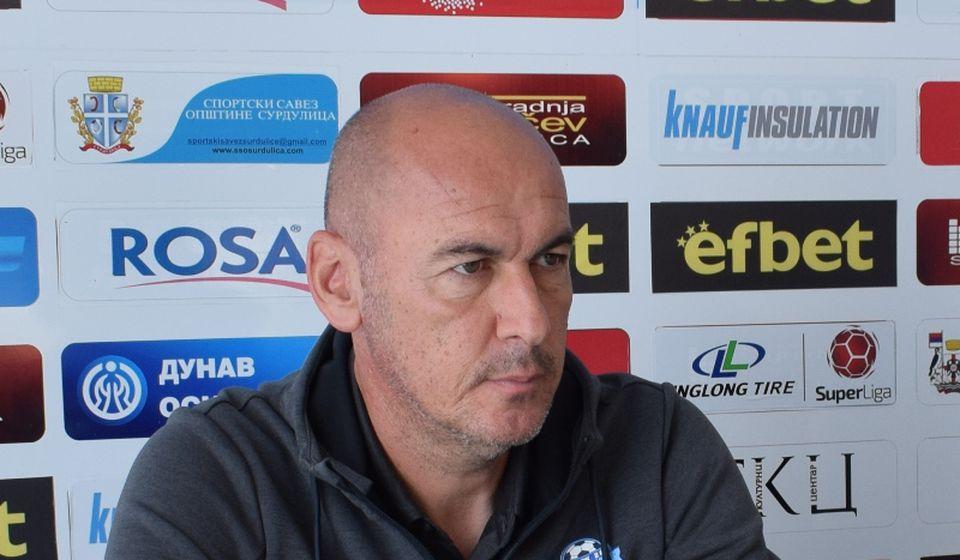 Dušan Đorđević, novi šef stručnog štaba Radnika. Foto D. Mirčev