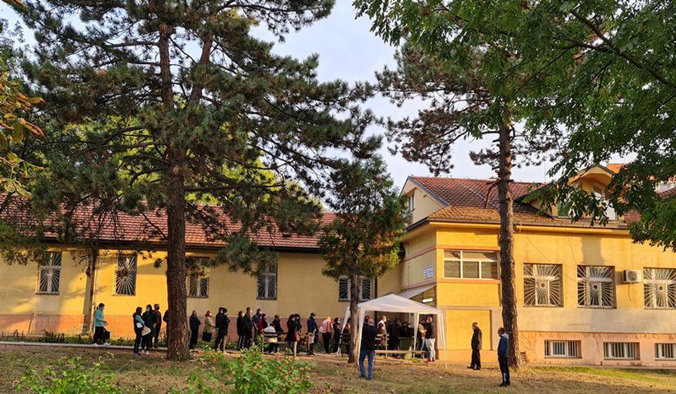 Vranje u poslednja četiri dana ima 12 preminulih u COVID sistemu: Odeljenje Psihijatrije, jedna od dve bolnice za kovid pacijente. Foto ZC Vranje
