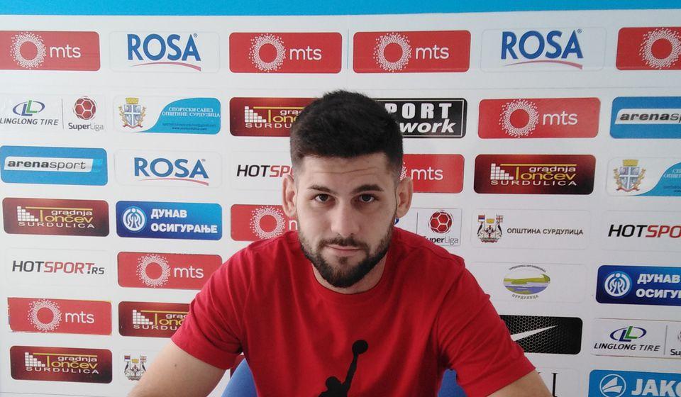 Potpisao na dve godine: Milan Makarić. Foto FK Radnik