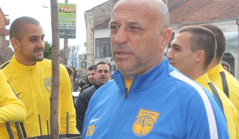 Još da Dinamo uđe u Super ligu. Dragan Antić Recko. Foto VranjeNews