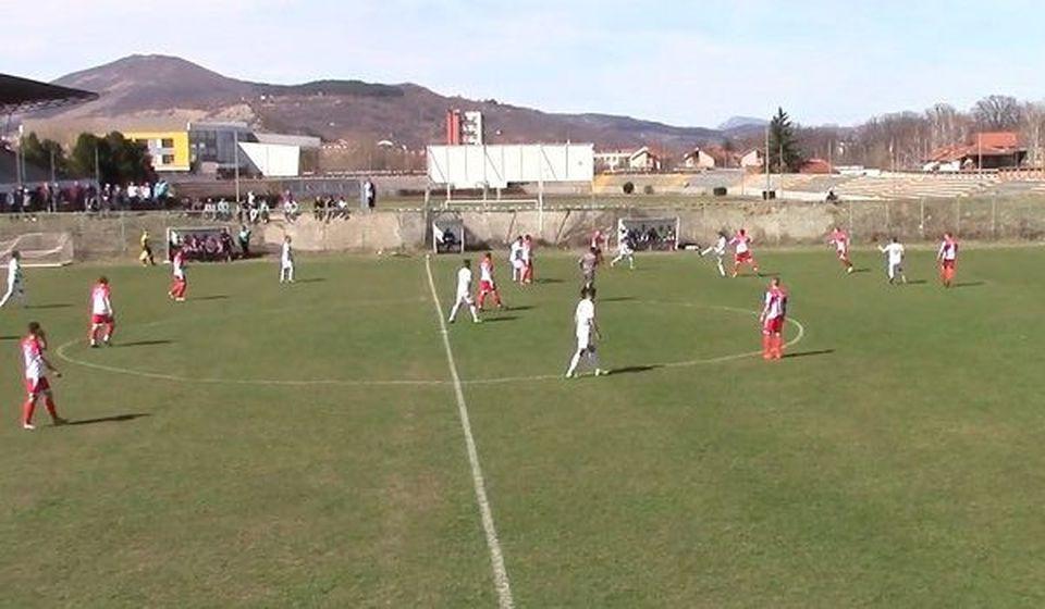 Detalj sa utakmice u Pirotu između Tanaska Rajića i Mladost u kojoj je ekipa iz Bosilegrada doživela težak poraz. Foto Plus Online