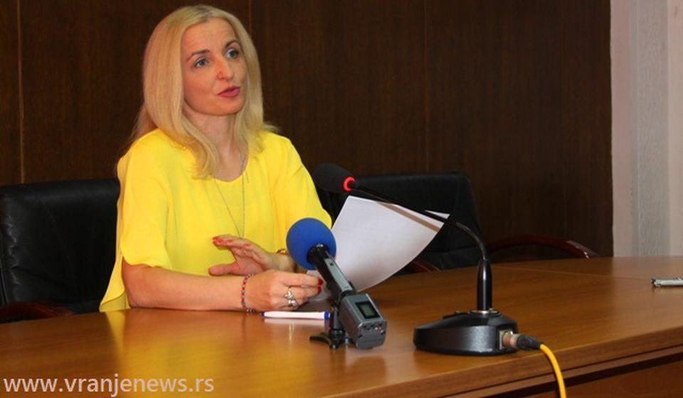 Vakcinisano tek oko 50 odsto prosvetnih radnika: Zorica Jović. Foto Vranje News