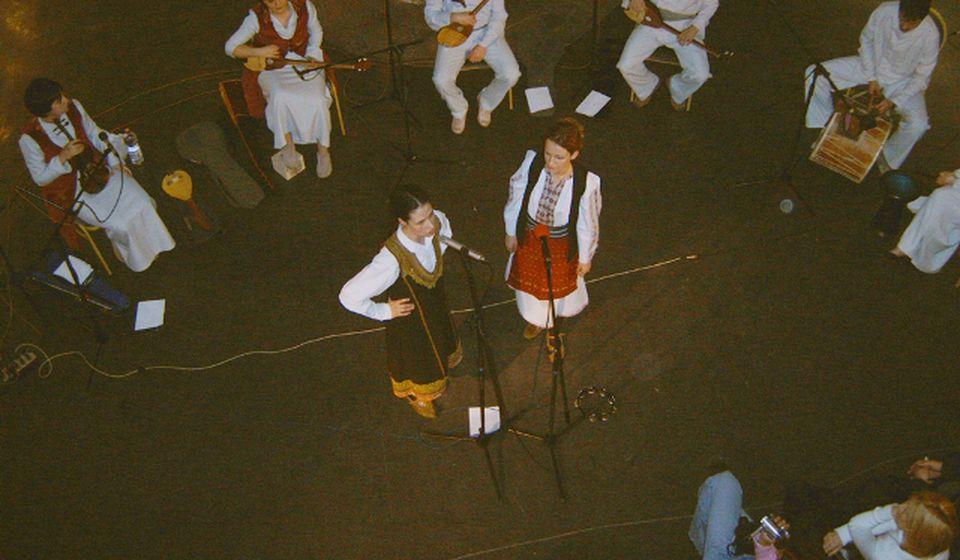Koncert u Etnografskom muzeju u Beogradu 2005. sa Jelenom Jovanović i Bojanom Nikolić. Foto Izvor