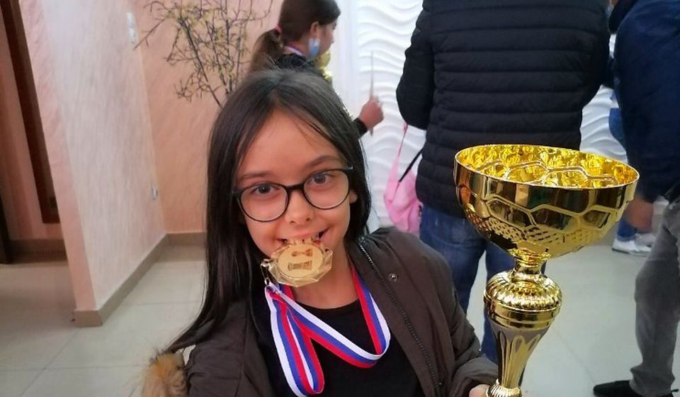 Odbranila titulu: Dunja Cvetanović. Foto Šah klub Vranje