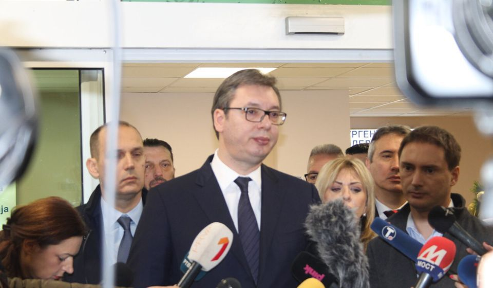 Da se ja pitam zatvorio bih Beograd i uveo sedmodnevni policijski čas: Aleksandar Vučić. Foto Vranje News