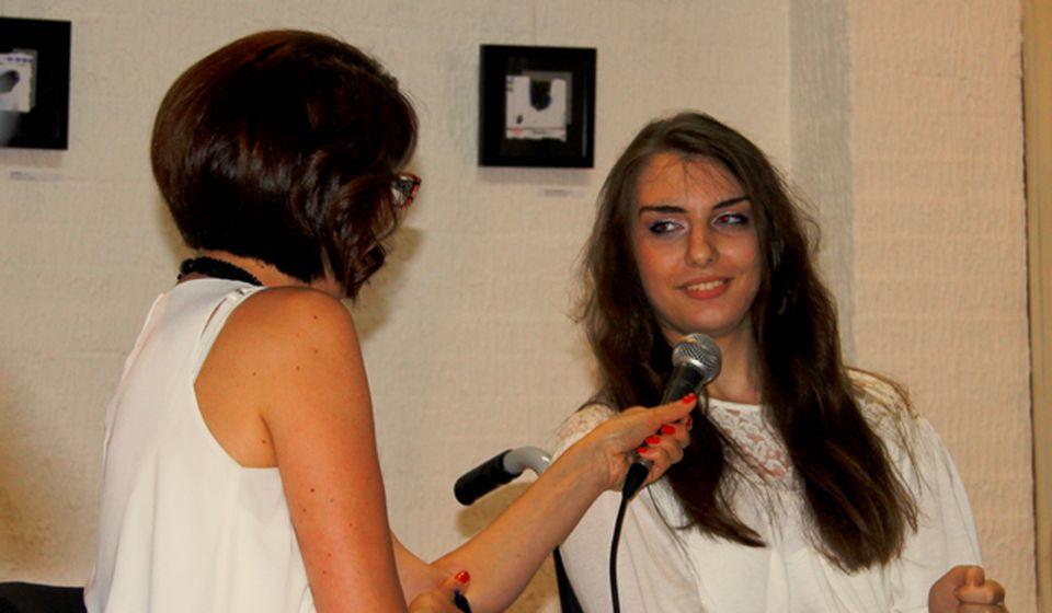 Trnu osećanja, trnu misli i poezija: Ana Ilić. Foto VranjeNews
