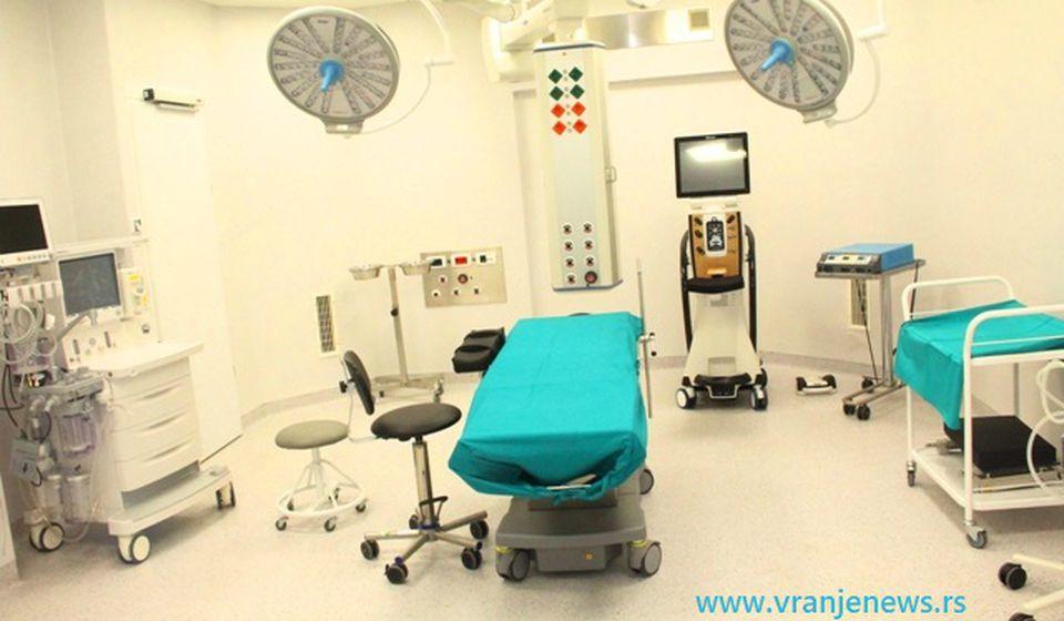 Jedna od operacionih sala novog Hirurškog bloka u Vranju. Foto Vranje News