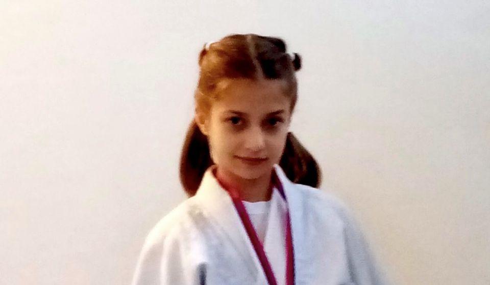 Iva Ivanović. Foto Džudo klub Vranje