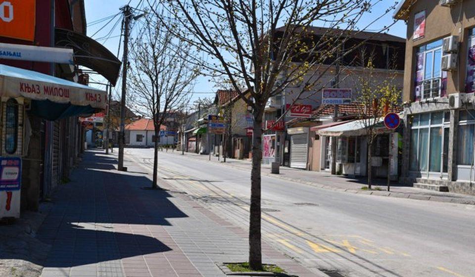 Ulica Beogradska u Vranju. Foto Vranje News