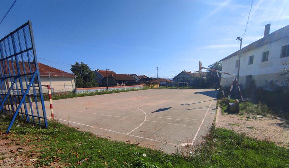 Ovde će biti realizovana volonterska akcija: sportski teren u Neradovcu. Foto promo