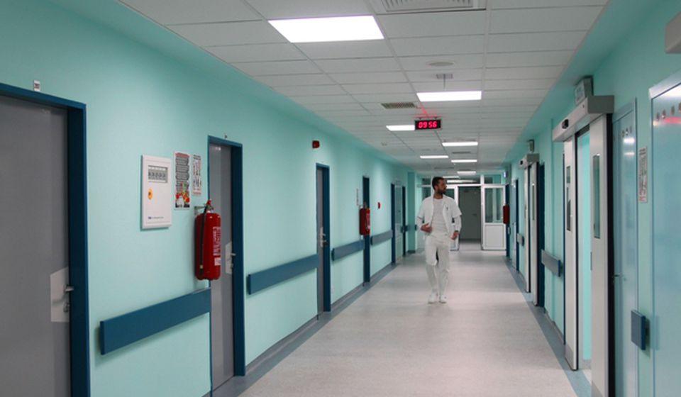 Za sada u novoj zgradi Hirurškog bloka funkcioniše samo služba PTO. Foto VranjeNews