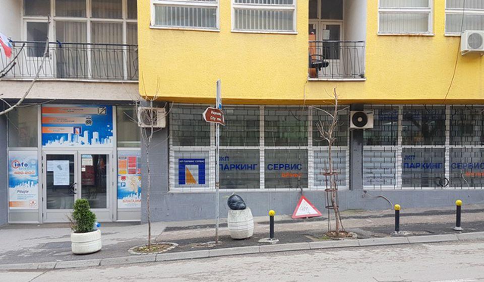 Urbanizam deli upravnu zgradu sa JKP Parking servis. Foto VranjeNews