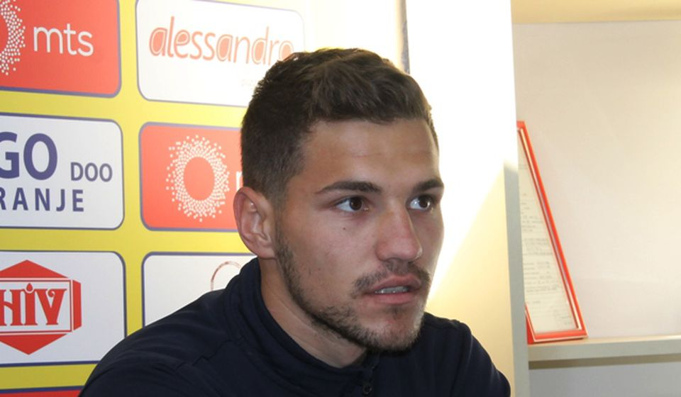 Navodno je i on suspendovan: fudbaler Dinama Lazar Đokić. Foto VranjeNews