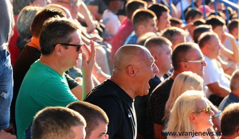 Nezadovoljstvo zbog sudijskih odluka. Foto VranjeNews