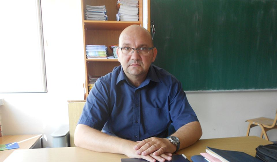 Nenad Stefanović, direktor OŠ Radoje Domanović. Foto VranjeNews
