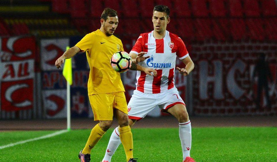 Detalj sa prošlogodišnjeg kup meča istih protivnika u Beogradu. Foto FK Crvena zvezda