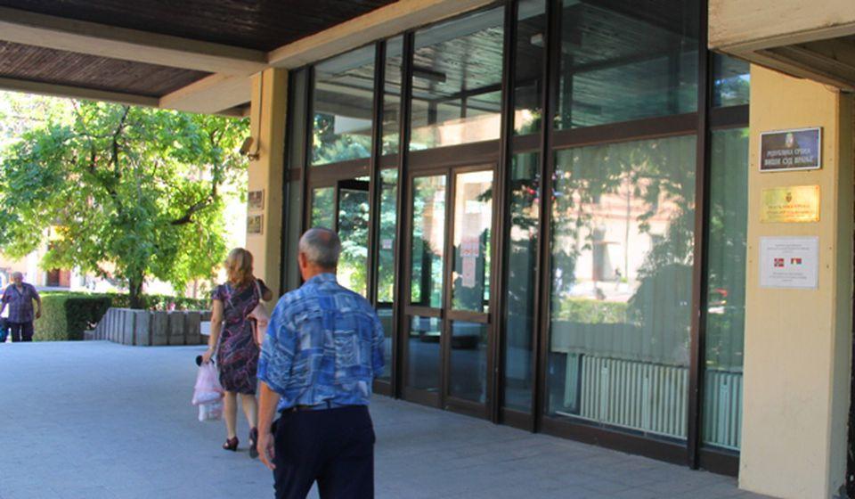 Ulaz u zgradu Višeg javnog tužilaštva. Foto VranjeNews